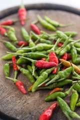 handful of spicy chili