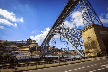Porto, Brücke Dom Luis I.