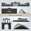 Obrazy na płótnie, fototapety, zdjęcia, fotoobrazy drukowane : Athens landmarks and monuments