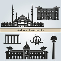 Ankara landmarks and monuments