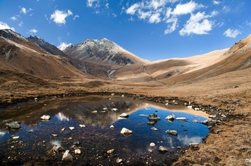View of Jang la pass - Western Nepal
