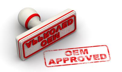 Утверждённый OEM производителем (oem approved). Печать и оттиск