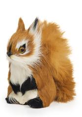 Furry squirrel toy