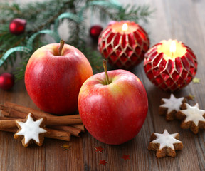 Christmas apples