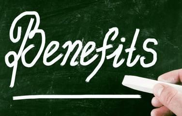 benefits concept