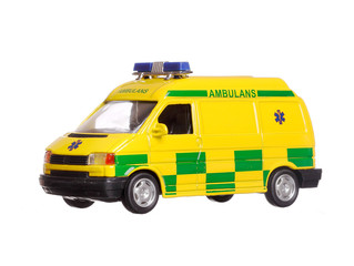 Swedish miniature ambulance toy