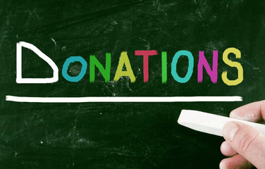 donations concept