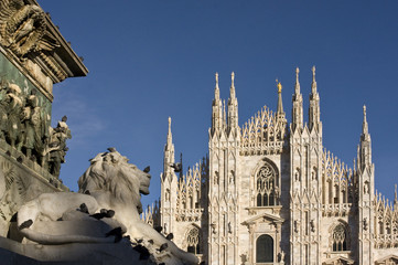 Piazza Duomo milan