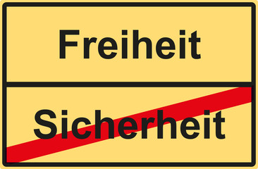 Sicherheit against Sicherheit