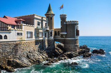 Wulff Castle in Vina del Mar, Chile