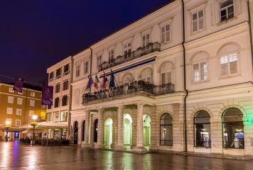 View of Rijeka town hall - Croatia