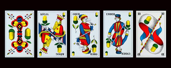 Spielkarten - JASSEN - EICHEL