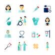 Nurse icon flat - 70007000