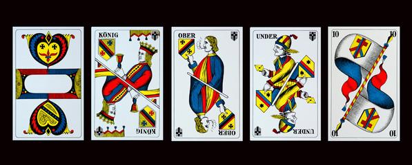 Spelkarten - JASSEN - KREUZ