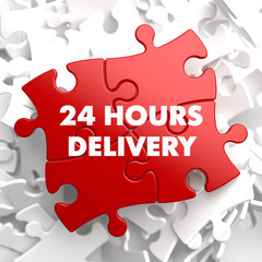 Red Puzzle - 24 hours Delivery.
