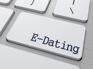 E-Dating on Keyboard Button.