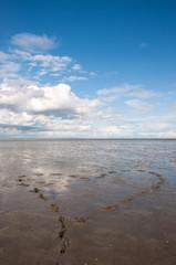 Wattenmeer Nordsee -  Herz -Watt - World Heritage