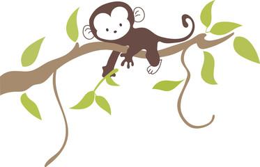Mono en Rama