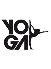 Yoga Übung Logo