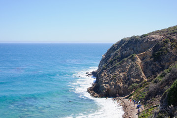 view from Duma Point, Malibu California