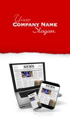 Internet news a customizable