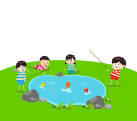 little Kid Fishing