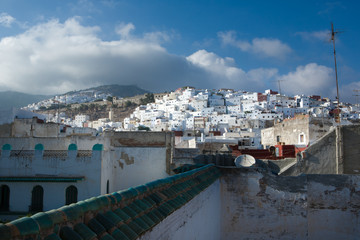 Tetuan white houses