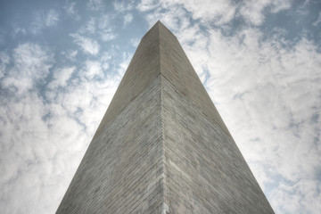 Washington Monument From Below
