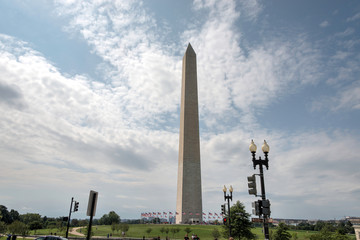 Washington Monument From Distance