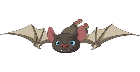 Halloween bat in flight