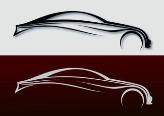 Otomobil silueti  serisi ( 1 )