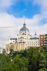 スペイン マドリード アルムデナ大聖堂
