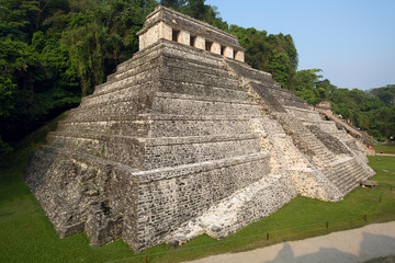 Temple of the Inscriptions , Palenque
