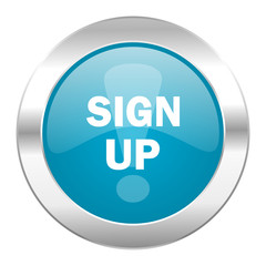 sign up internet icon