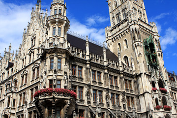 The New Town Hall, Munich, Germany