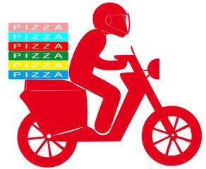 livraison de pizzas à domicile