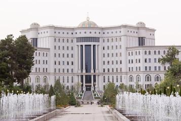 National Library of Tajikistan. Dushanbe, Tajikistan