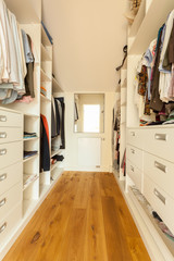 Bright spacious closet