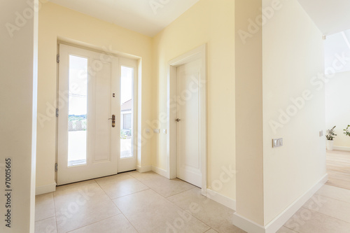canvas print picture Bright lobby in modern house