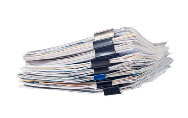 pile of document