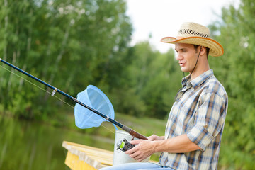 Summer fishing