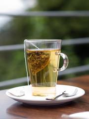 Teepause - Tee trinken - Auszeit - Entspannung