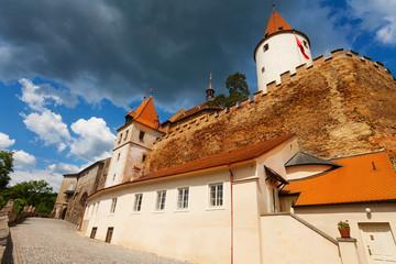 Krivoklat town and castle