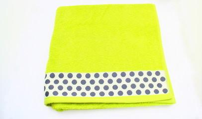 serviette éponge,de plage,vert,coloré moderne