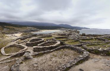 Panorama. Castro de Baroña
