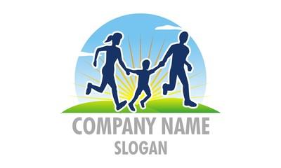 Family Sport Fun Logo