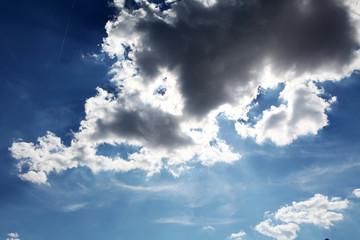 ciel et nuage lumière du soleil,