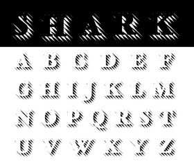 alphabet sharp