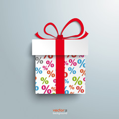 Paper Gift Percent