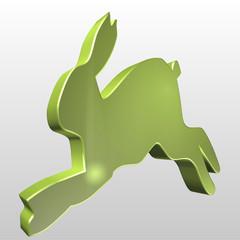 Logo 3D lepre
